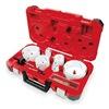 Milwaukee 49-22-4155 Master Plumbers Hole Saw Kit, 18 Pc