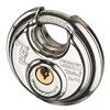 Abus 24IB/60 KA Stainless Steel Diskus Padlock, Silver
