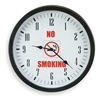 Approved Vendor 2CHY1 Clock, Rnd, Analog, No Smoke, 14 3/8in, Blk