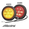 Maxxima AX20RG - KIT Clearance Light, LED, Red, Round, 2-1/2 Dia