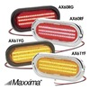 Maxxima 3JYD4 Stop/Tail/Turn Light, LED, Red, Grommet, Ovl