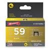 Arrow 591189BL Insulated Staple, T59, 13/64 L, PK300