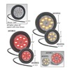 Maxxima AX10YCG-KIT Clearance Light, LED, Amber, 2-1/2 In Dia