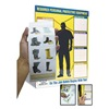 Accuform Signs PPE468 PERSONL PROTECTIVE EQUIP LABEL BOOK ONLY