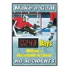 Accuform Signs SCD243 Safety Scoreboard, 28 x 20In, ENG