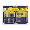 Irwin 3057041 Screwdriving Bit Set, 1/4 In Shank, 41 Pc