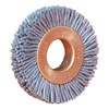 Weiler 17543 Wheel Brush, 2 In D, Wire 0.022/320 In