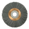 Weiler 31265 Wheel Brush, 4 In D, Wire 0.035/180 In