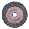 Weiler 31245 Wheel Brush, 3 In D, Wire 0.040/120 In