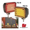 Federal Signal GL1-A Grille Light, LED, Ambr, Pedestal, Rectangle