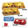 Federal Signal 415011-02SC Mini Lightbar, Strobe, Amber, Perm, 15 In