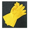 Sellstrom 68160 Disposable Gloves, Latex, L, Yellow, PR1