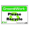 Zing 1009 Environmental Awareness Sign, 7 x 10In