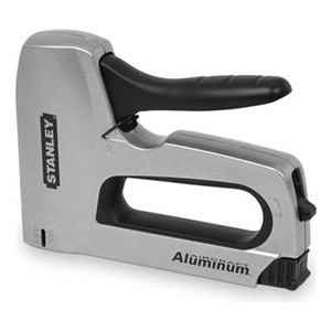 Stanley Staple Gun, HD Aluminum, Flat Crown, 3/8 In at Sears.com