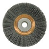 Weiler 31275 Wheel Brush, 4 In D, Wire 0.035/180 In