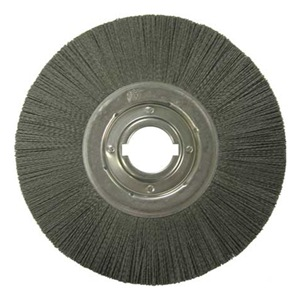 Weiler Wheel Brush, 12 In D, Wire 0.043 In at Sears.com