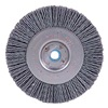 Weiler 31084 Wheel Brush, 3 In D, Wire 0.035/180 In