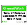 Zing 1038 Environmental Awareness Sign, 7 x 10In