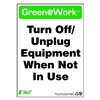 Zing 2038 Environmental Awareness Sign, 14 x 10In