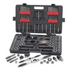 Gearwrench 82812 Tap/Die Set, Carbon, 114 PC, #4-3/4, M3-M18