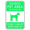 Brady 115218 Notice Sign, 18 x 12In, GRN/WHT, AL, ENG