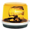 Federal Signal 225-120A Warning Light, Incandescent, Amber, 120VAC