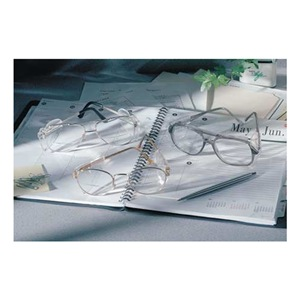 Crews Reading Glasses, +1.0, Clear, Polycarbonate