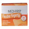 Medi-First 61578 Adhesive Bandages, Fingertip, PK 40