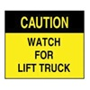 Accuform Signs XD150 Caution Sign, 10 x 14In, BK/YEL, ENG, Text