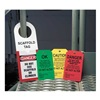 Accuform Signs TSS101PTP Danger Tag, 5-7/8 x 3-3/8 In, Bk/R, PK25