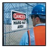 Accuform Signs MPPE607VP Caution Sign, 24 x 36In, R and BK/WHT, ENG
