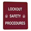 Prinzing LOSB1 Lockout Procedure Binder Red