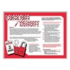 Accuform Signs PST722 Safety Awareness Poster, 24 x 18In, ENG