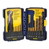 Irwin 314018 Drill Bit Set, Black Oxide, 1/16-1/2, 18 Pc