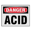 Electromark L269-H Danger Label, 3-1/2 In. H, PK 8