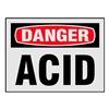 Electromark L269-H Danger Label, 3-1/2 In. H, PK 8