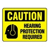 Electromark L283-H Caution Label, 3-1/2 In. H, 5 In. W, PK 8