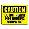 Electromark L281-H Caution Label, 3-1/2 In. H, 5 In. W, PK 10