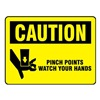 Electromark L284-H Caution Label, 3-1/2 In. H, 5 In. W, PK 8