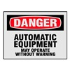 Electromark L270-H Danger Label, 5 In. W, 3-1/2 In. H, PK 8