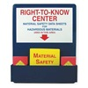 Accuform Signs ZRS722 MSDS Center Board Kit, Aluminum