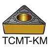 Sandvik Coromant TCMT 222-KM         3215 Carbide Turning Insert, TCMT 222-KM 3215, Pack of 10