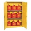 Eagle 1947SC9 Flammable Safety Cabinet, 45 Gal., Yellow