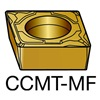 Sandvik Coromant CCMT 3(2.5)1-MF     1105 Turning Insert, CCMT 3(2.5)1-MF 1105, Pack of 10