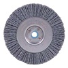 Weiler 31124 Wheel Brush, 4 In D, Wire 0.035/180 In