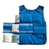 Approved Vendor 3XLN7 Cooling Vest, Universal, Poly/Cotton, Blue