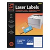 Simon By Sjpaper SL15027 Laser Label, White, 80 Signs, PK25