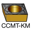 Sandvik Coromant CCMT 3(2.5)2-KM     3215 Turning Insert, CCMT 3(2.5)2-KM 3215, Pack of 10