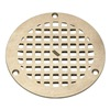 Zurn Industries JP2280-R5-STR-GRAIN Replacement Grate, Round, 5 In  Dia