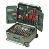 Xcelite TCMB100STW Electronics Tool Set, 89 Pc, Wheeled Case